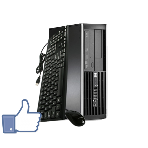 PC SH HP Compaq 6005 Pro, Athlon II x2 B22 Dual Core, 2.8Ghz, 2Gb DDR3, 160Gb, DVD-RW FB