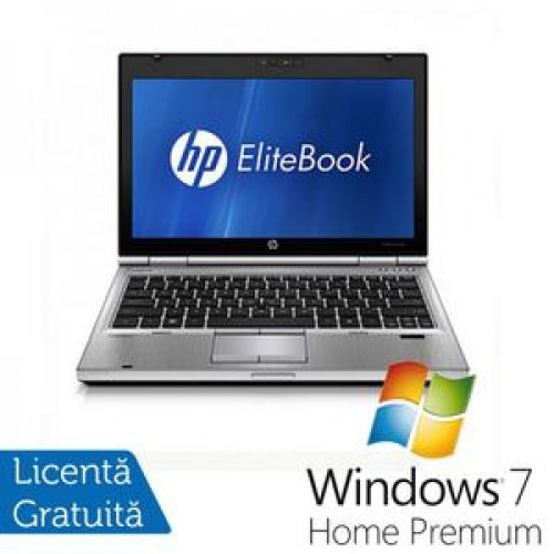 Laptop Hp EliteBook 2560p, Intel Core i5-2540M 2.6Ghz, 4Gb DDR3, 320Gb SATA, DVD-RW, 12,5 inch LED-backlit HD, DisplayPort + Windows 7 Home Premium