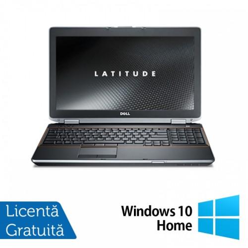 Laptop DELL Latitude E6520, Intel Core i5-2520M 2.50GHz, 4GB DDR3, 250GB SATA, 15.6 INCH, DVD-RW + Windows 10 Home