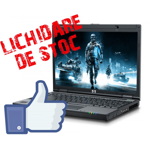 HP 6910P, Core 2 Duo T8100, 2.1Ghz, 2Gb DDR2, 80Gb, DVD-ROM, Oferta FB***