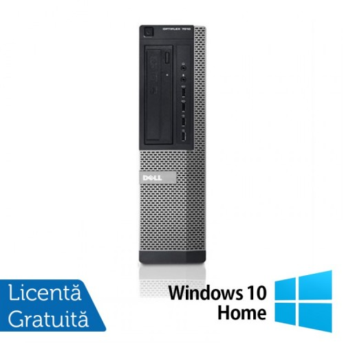 PC Refurbished DELL OptiPlex 7010 Desktop, Intel Core i5-3470s 3.20GHz, 4GB DDR3, 250GB SATA, DVD-RW + Windows 10 Home
