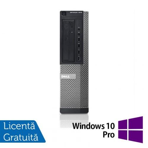 PC Refurbished DELL OptiPlex 7010 Desktop, Intel Core i3-3220 3.30GHz, 4GB DDR3, 250GB SATA, DVD-RW + Windows 10 Pro
