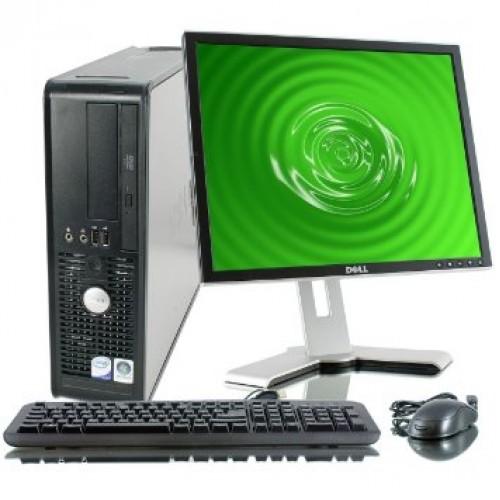 Pachet PC SH Dell Optiplex 755 Desktop, Intel Core 2 Duo E6550 2,3GHz , 2Gb DDR2 , 160Gb SATA , DVD-RW cu Monitor LCD ***