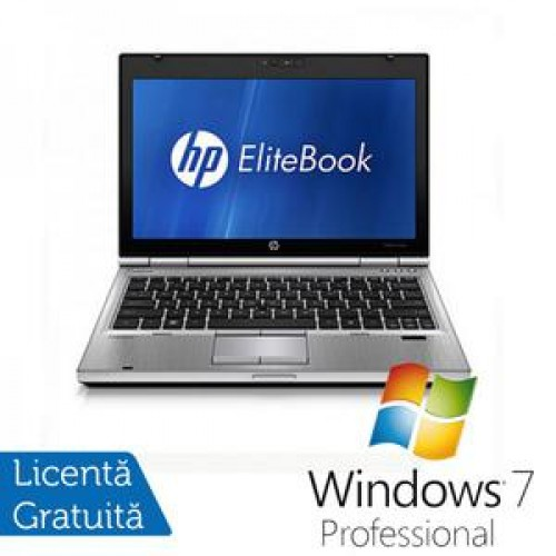 Laptop Hp EliteBook 2560p, Intel Core i5-2540M 2.6Ghz, 4Gb DDR3, 320Gb SATA, DVD-RW, 12,5 inch LED-backlit HD, DisplayPort + Windows 7 Professional