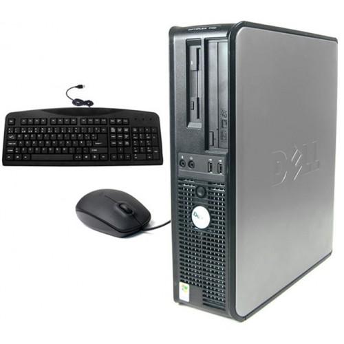 PC Dell Optiplex 755 SFF, Intel Core 2 Duo E7500 2.93GHz, 4Gb DDR2, 160Gb SATA , DVD