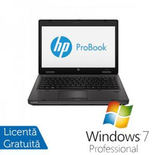 Laptop HP ProBook 6470b, Intel Core i5-3210M 2.5GHz, 4GB DDR3, 320GB SATA, DVD-RW + Windows 7 Professional