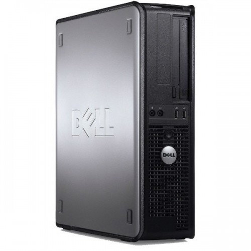 Calculator Dell Optiplex 780 DSK, Intel Core 2 Quad Q9550 2.83GHz, 4Gb DDR3, 250GB SATA, DVD-RW