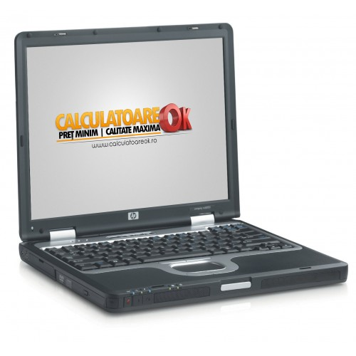 Laptop HP NC6000 Second Hand, Intel Pentium M,1.6Ghz, 1024Mb DDR, 40Gb HDD, Combo, 14.1 inci ***