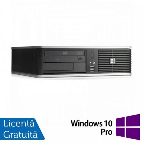 PC HP DC7900 SFF, Intel Core 2 Duo E8500 3.16GHz, 4GB DDR2, 160GB SATA, DVD-ROM + Windows 10 Pro