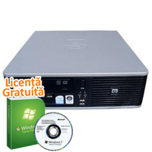 HP 6000 Pro SFF, Intel Pentium dual-core E6700, 3.2GHz, 2GB DDR3, 160GB HDD, DVD-RW + Windows 7 Professional