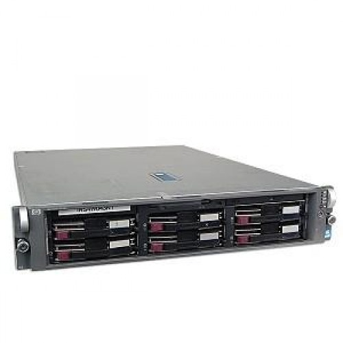 Server stocare HP Proliant DL 380 G4, 2x Intel Xeon 3.0Ghz, 4Gb, 2x146Gb SCSI, CD-ROM, RAID
