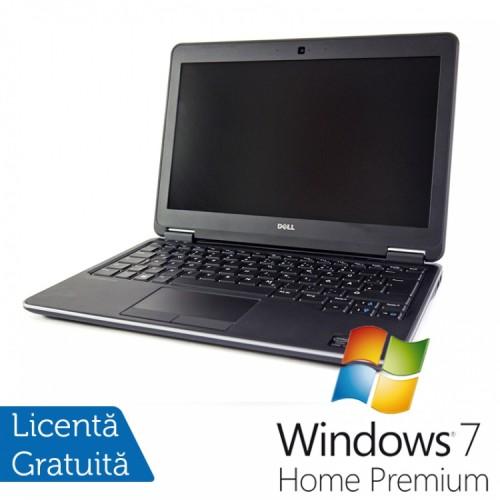 Laptop DELL Latitude E7240, Intel Core i7-4600U Generatia a 4-a 2.10GHz, 8GB DDR3, 256GB SSD + Windows 7 Home Premium