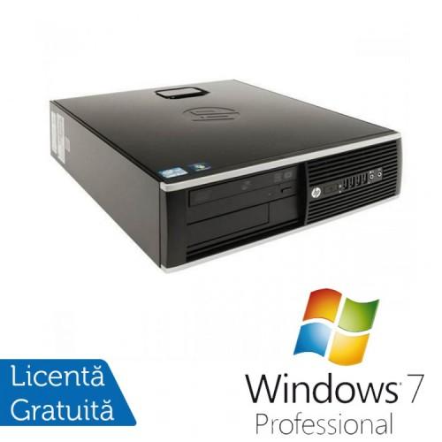 Calculator HP 8200 Elite SFF, Intel Core i3-2100 3.1GHz, 4GB DDR3, 160GB SATA, DVD-RW + Windows 7 Professional
