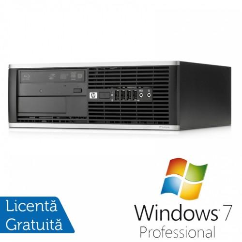 PC HP 8000 Elite Desktop, Intel Core 2 Duo E8500, 3.16GHz, 4GB DDR3, 320GB SATA, DVD-RW + Windows 7 Pro