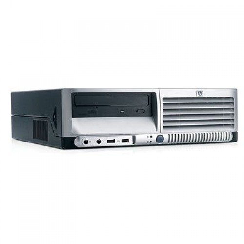 Unitate HP Compaq DC7600 Desktop Pentium 4, 3.40GHz, 2Gb DDR2, 80Gb, DVD-ROM