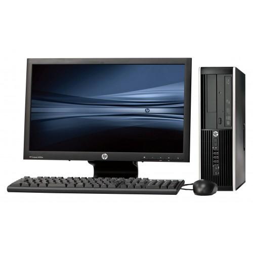 Pachet PC sh HP Compaq Elite 8200 desktop, Intel Core i5-2500 3.30Ghz, 4Gb DDR3, 250Gb, DVD cu monitor LCD
