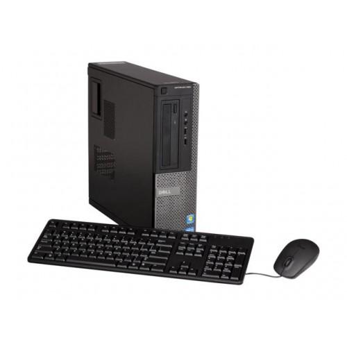 Unitate SH Dell OptiPlex 390 desktop, Intel Core i3-2120, 3.3Ghz, 4Gb DDR3, 250Gb HDD, DVD-ROM