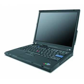 Laptop  Lenovo T60, Core Duo T2400, 1.83Ghz, 2Gb DDR2, HDD 60Gb, DVD, 14 inch