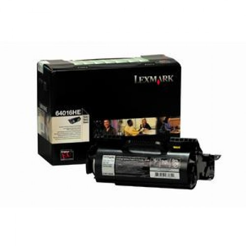 Cartus toner LEXMARK 64016HE, Original, 21000 pagini pentru Lexmark T640, T642, T644