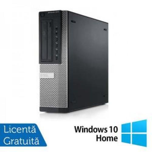Calculator DELL 9010 Desktop, Intel Core i7-3770 3.40GHz, 4Gb DDR3, 250GB SATA, DVD-ROM + Windows 10 Home
