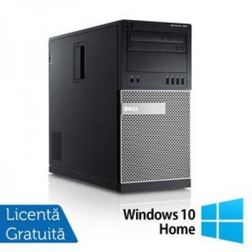 Calculator DELL GX990 Tower, Intel Core i5-2500, 3.30 GHz, 8GB DDR3, 320GB SATA, DVD-RW + Windows 10 Home