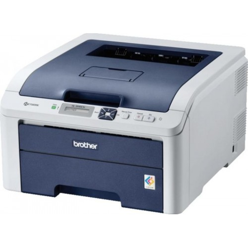 Imprimanta Laser Color A4 Brother HL-3040CN, 17ppm, USB, Retea