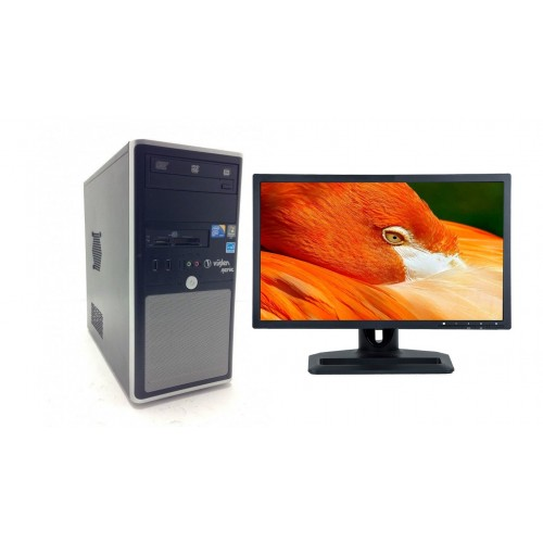 Pachet PC+LCD Gaming Segotep Legend C2, I7-3770 3.40Ghz, 8Gb DDR3, 500Gb,Video GT210 1Gb,DVD