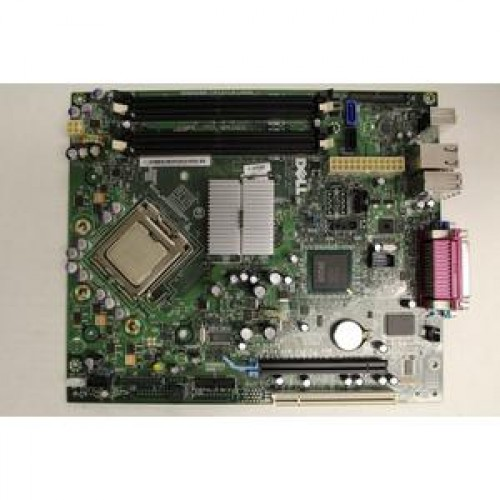 Placa de baza Dell KL0517 E219542 + Procesor Intel Core 2 Duo E6550 2.33Ghz Socket LGA775 pentru calculator Dell Optiplex 755