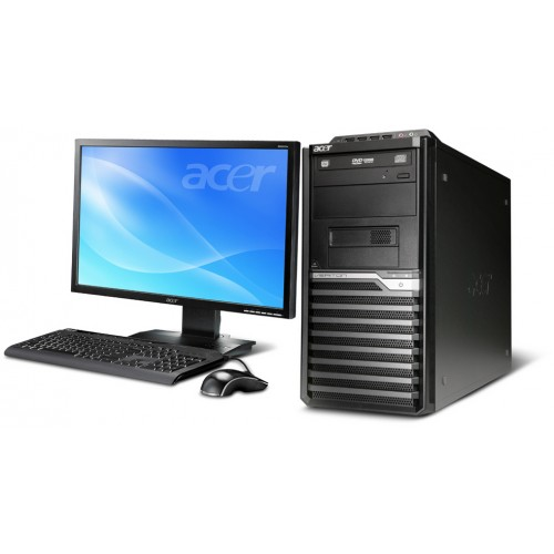 Calculator ACER Veriton M480G, Intel Core 2 Duo E8400 3.0Ghz, 2Gb DDR3, 160Gb, DVD-RW cu Monitor LCD ***