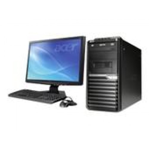 Calculator Acer M670G  Intel Core 2 Quad Q8300 2,5Ghz, 2Gb DDR3 , 500Gb HDD , DVD-RW cu Monitor LCD  ***