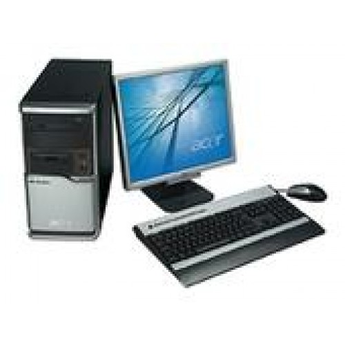 PC SH Acer Power FH, Intel Core 2 Duo E4300 1.8Ghz, 2Gb DDR2, 80Gb SATA, DVD-RW cu Monitor LCD ***