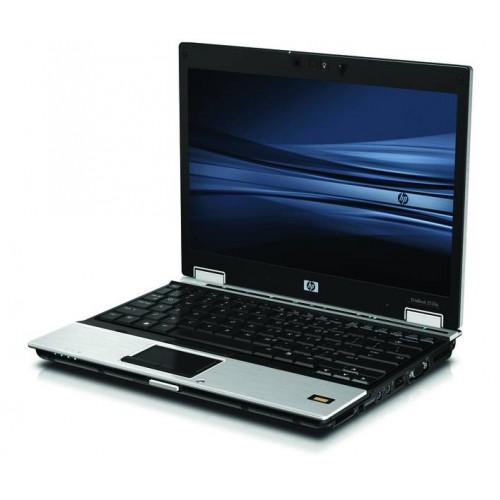 Laptop HP EliteBook 2530p, Intel Core 2 Duo SL9400 1.87GHz, 3Gb DDR2, 120Gb HDD, DVD-RW, webcam, 12.1inch wide