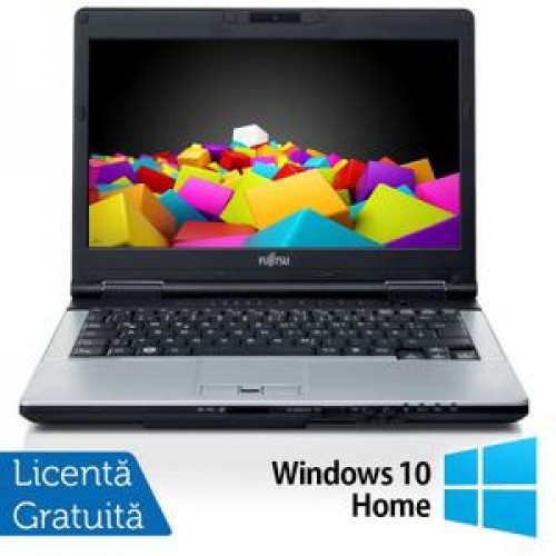 Fujitsu LIFEBOOK S751 Notebook, Intel Core i3-2310M 2.1Ghz, 4Gb DDR3, 320Gb, DVD-RW, Bluetooth, WebCam, Wi-fi + Windows 10 Home