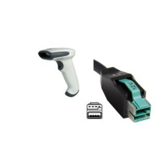 Cititor cod de bare Honeywell Hand Held 3800G Adaptus 3800G05E, 12v USB Host Powered Cable