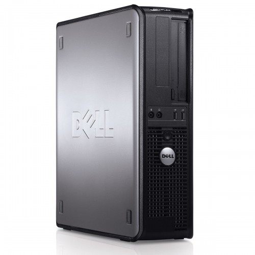 Calculator refurbished Dell OptiPlex 780 Core 2 Duo E7500 2.93GHz 2GB DDR3 160GB Sata DVD-RW Desktop SFF Soft Preinstalat Windows 10 Home