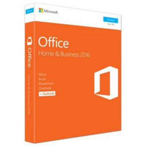 Licenta retail Microsoft Office 2016 Home and Business 32-bit/x64 English Medialess
