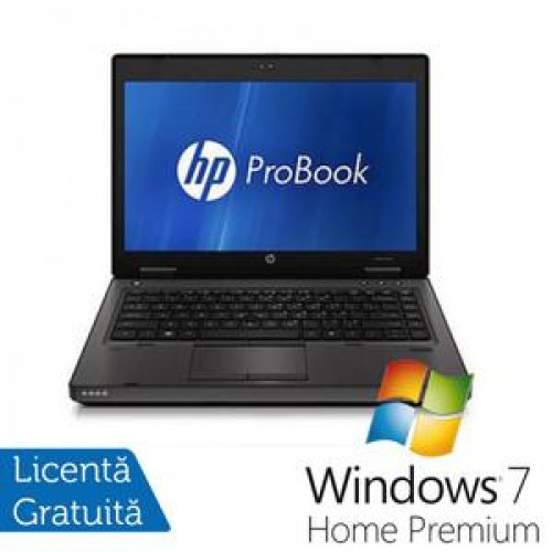 Laptop HP ProBook 6360B, Intel Core i3-2310M 2.10GHz, 4GB DDR3, 320GB SATA, DVD-RW + Windows 7 Home Premium