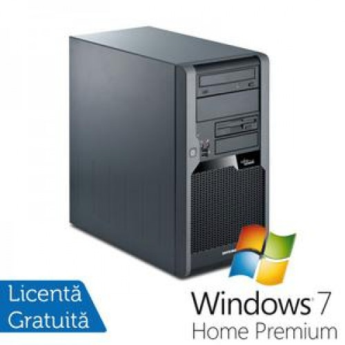 Calculator Fujitsu P5731, Intel Core 2 Quad Q9505 2.83Ghz, 4Gb DDR3, 320Gb SATA, DVD-RW + Windows 7 Professional