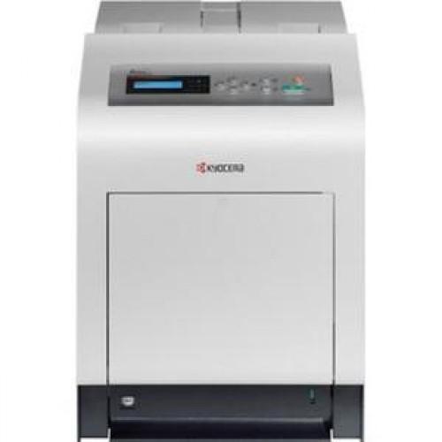Imprimanta Laser Color Kyocera FS-C5200DN, 21 ppm, Duplex, Retea, USB 2.0