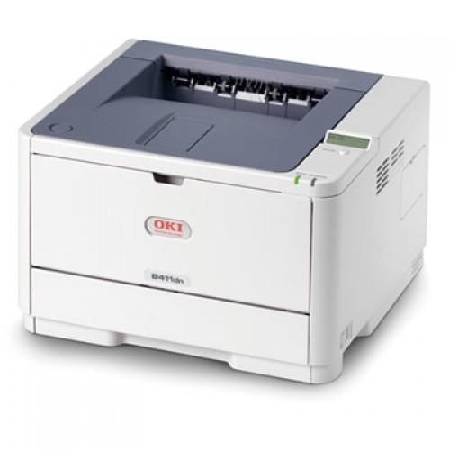 Imprimante Second Hand Laser Monorom OKI B411d, A4, 33ppm, Duplex