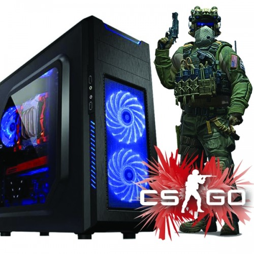 Calculator Gaming Fortnite Tower Intel Core i5-3570M 3,80GHz ,Video 1 GB DDR3 ATI HD 5450 128 BITS, 8Gb DDR3, 500 GB HDD,  - Fortnite, GTA 5, CS-GO
