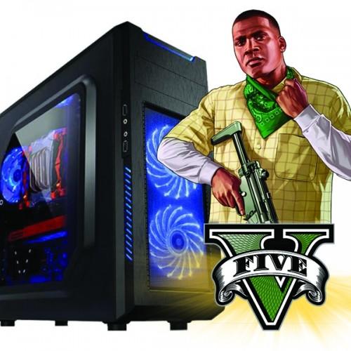Calculator Gaming Fortnite Tower Intel Core i5-4570 3,20GHz ,Video NVIDIA GFORCE GTX 74X 4GB DDR 128 BITS, 8Gb DDR3, 500 GB HDD  - GTA5, CS-GO, Fortnite