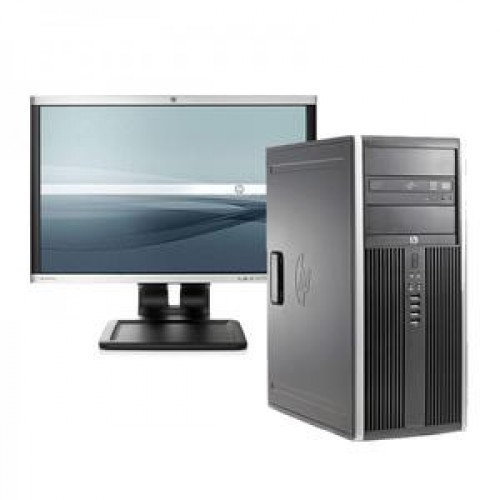HP 6200 Pro Tower, Intel Core i5-2400 3.1GHz, 4GB DDR3, 250GB SATA, DVD-RW + Monitor LA1905WG