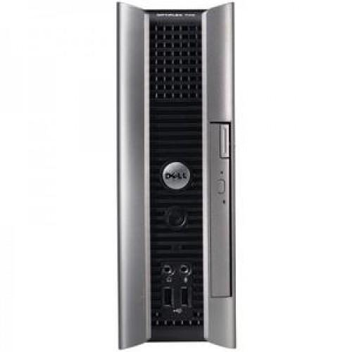 Calculator DELL GX745 USFF, Intel Pentium Dual Core E6300 2.80GHz, 1GB DDR2, 80GB SATA, DVD-ROM