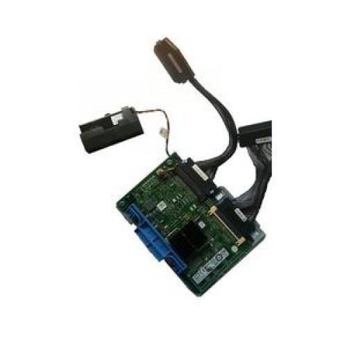 Raid Dell Perc 6/i SAS, PCI-E x8 cu baterie, suport baterie, suport metalic si cabluri conectoare