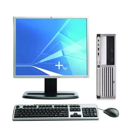 PC HP DC5100, Intel Dual Core E2160, 1.8GHz, 2Gb DDR2, 80Gb HDD, DVD-ROM cu Monitor LCD  ***