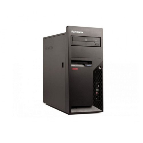 Calculatoare Refurbished Lenovo Thinkcentre M58p Tower, Intel Core 2 Duo E8400, 3.00Ghz, 2GB DDR3, 160GB HDD, DVD-ROM + Windows 10 PRO