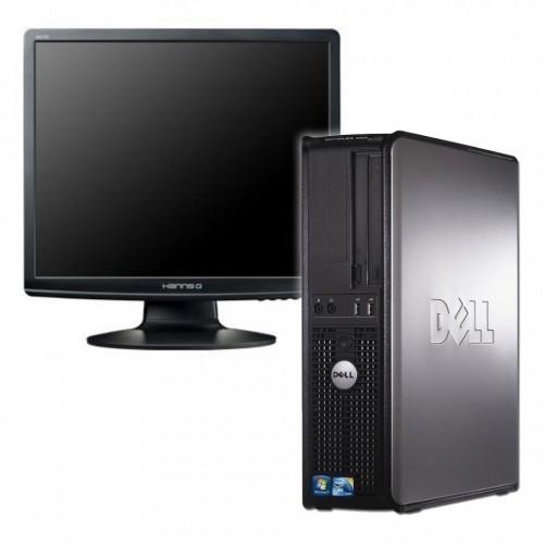 Pachet calculator SH Dell Optiplex 780 Desktop , Intel Core2 Duo E7600 3.06Ghz, 2Gb DDR3, 80Gb, DVD-RW cu Monitor LCD ***