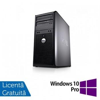 Calculator Dell 780 Tower, Intel Pentium E5300 2.60GHz, 2GB DDR3, 160GB SATA, DVD-ROM + Windows 10 PRO