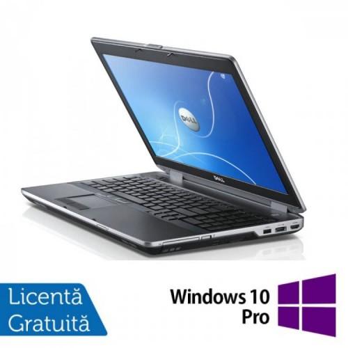 Laptop Dell Latitude E6530, Intel i5-3320M, 2.6Ghz, 4GB DDR3, 500GB SATA, DVD-RW, 15.6 Inch HD + Windows 10 Pro